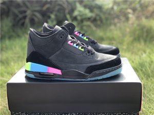 2018 Air Jordan 3 Quai 54 Black