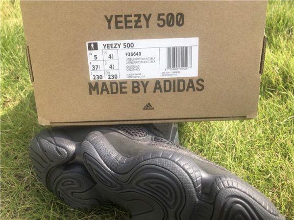 Adidas Yeezy 500 Utility Black F36640 detail