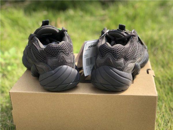 Adidas Yeezy 500 Utility Black F36640 heel