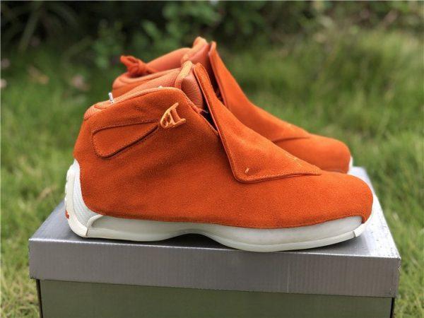 Air Jordan 18 Suede Pack Orange