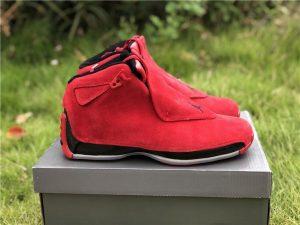 Air Jordan 18 Toro Red Suede aka Raging Bull