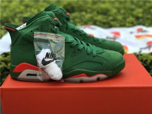 Mens Shoes Air Jordan 6 NRG Gatorade Green