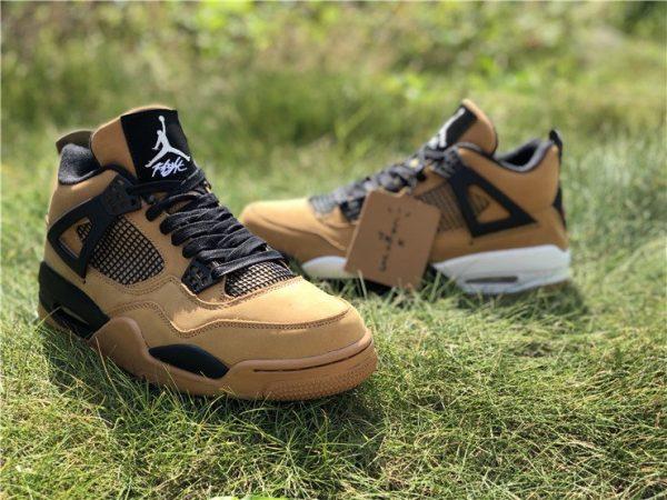 Nike Air Jordan 4 Wheat Black sale