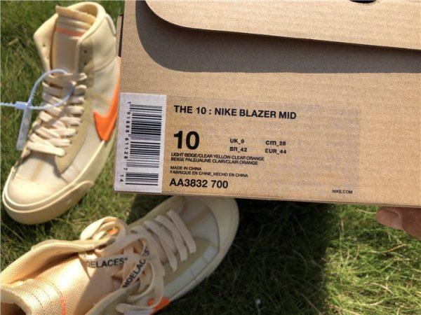 Nike Blazer Studio Mid All Hallows Eve Off-White