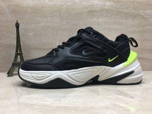 Nike M2K Tekno Black Volt Monarch Sneaker