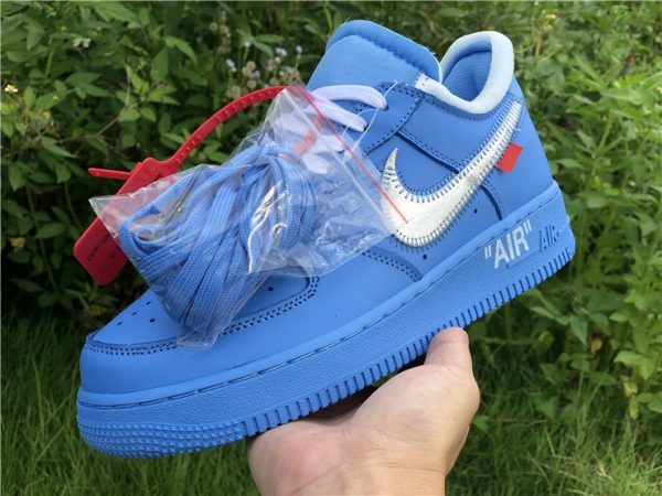 Off-White x Nike Air Force 1 Low MCA Chicago on hand