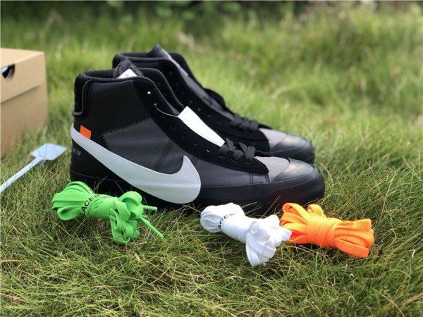Off-White x Nike Blazer Grim Reaper Black sneaker