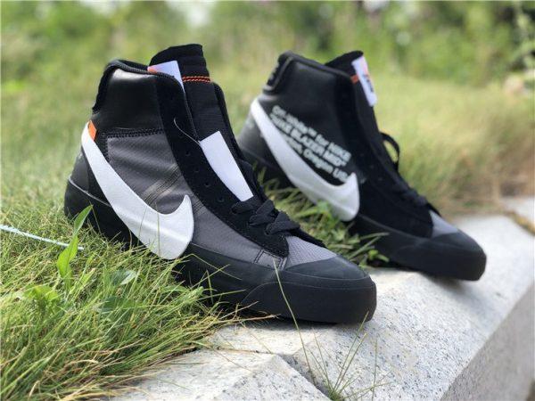 Off-White x Nike Blazer Grim Reaper shoes