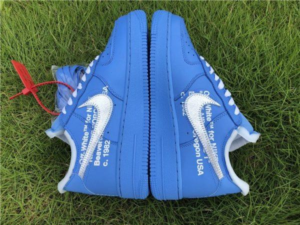 Off-White x af1 1 Low MCA Chicago Blue