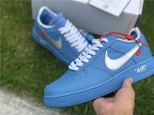 Off-White x af1 1 Low MCA Chicago Blue sneaker