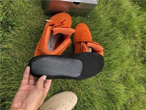 Orange Air Jordan 18 Suede Pack detal