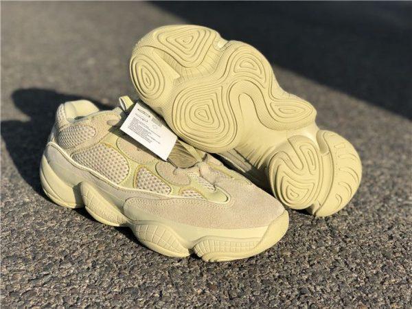 adidas Yeezy 500 Super Moon Yellow DB2966 sole