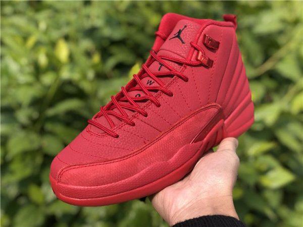 2018 Air Jordan 12 Bulls Gym Red 130690-601 shoes