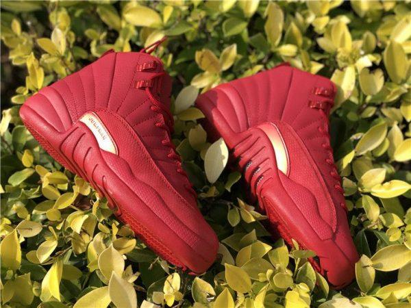2018 Air Jordan 12 Bulls Gym Red 130690-601 sneaker