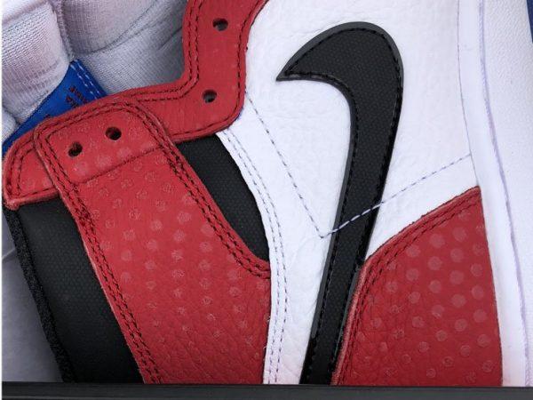 Air Jordan 1 Chicago Crystal Gym Red close look