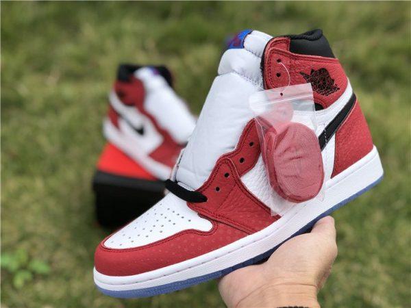 Air Jordan 1 Chicago Crystal Gym Red shoelaces