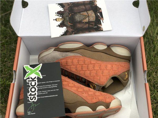 Air Jordan 13 Low Clot Terra Blush in box