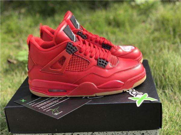 Air Jordan 4 NRG Singles Day Fire Red