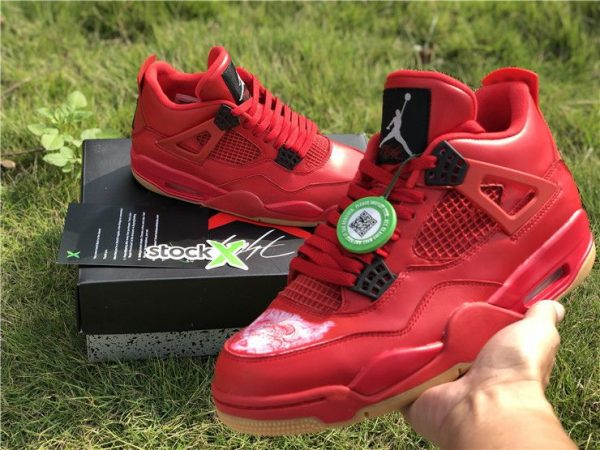 Air Jordan 4 NRG Singles Day Fire Red for sale