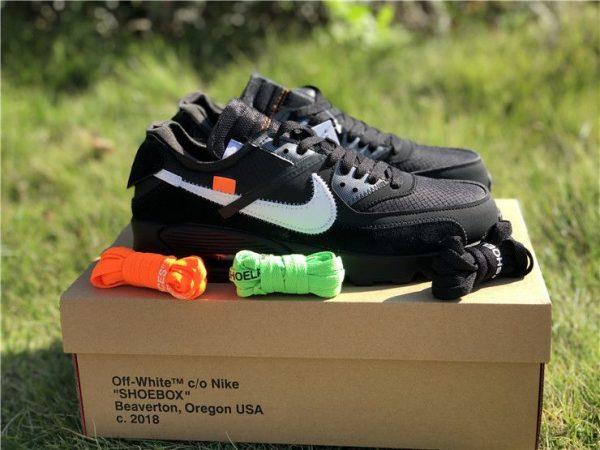 Black Off-White Nike Air Max 90