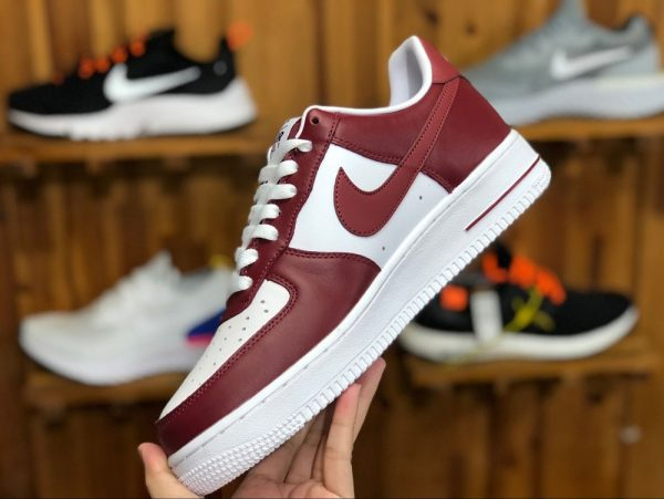 Nike Air Force 1 Low Team Red White for sale