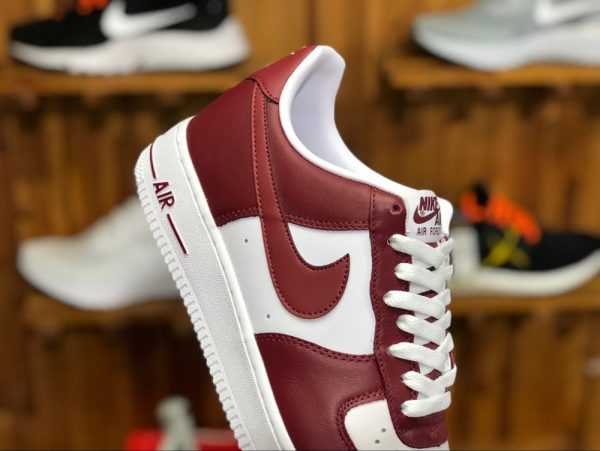 Nike Air Force 1 Low Team Red White sneaker