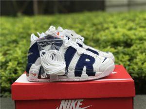 Nike Air More Uptempo Knicks White Deep Royal