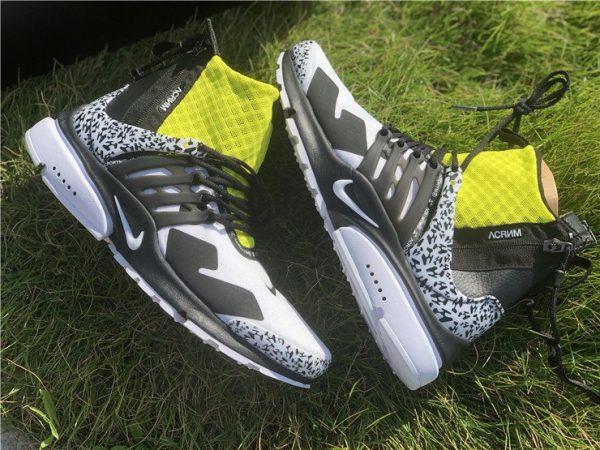 Nike Air Presto Mid Acronym Dynamic Yellow