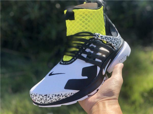 Nike Air Presto Mid Acronym Dynamic Yellow sneaker