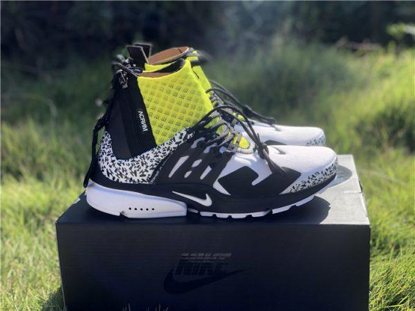 Nike Air Presto Mid x Acronym Dynamic Yellow