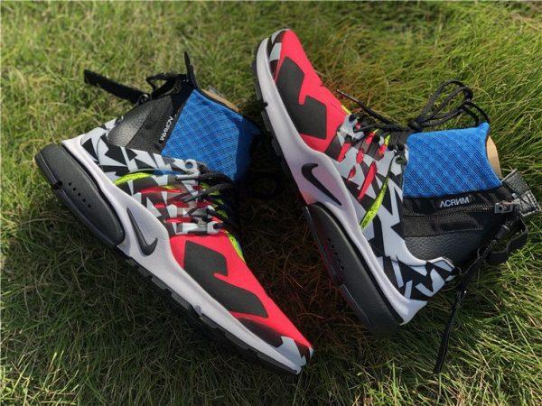 Nike Air Presto Mid x Acronym Racer Pink sneaker