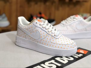 Nike Footwear Air Force 1 Low White Cone Orange Spot