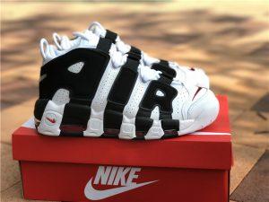 Scottie Pippens Air More Uptempo Nike White Black