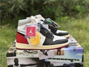Union x Air Jordan 1 Retro High OG NRG - Black Toe