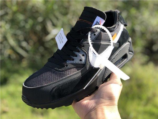 shop Off-White Nike Air Max 90 Black AA7293-001