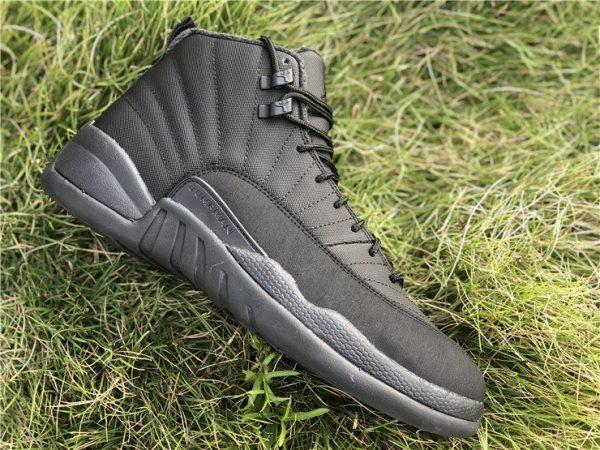 Jordan 12 Winterized WNTR Triple Black Anthracite shoes
