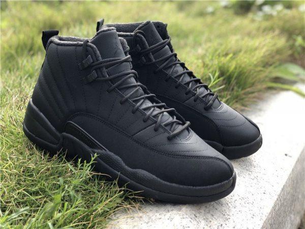 Jordan 12 Winterized WNTR Triple Black Anthracite sneaker