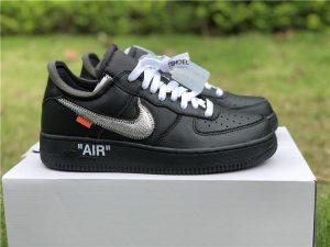 Off-White x Nike Air Force 1 '07 Virgil x MoMa Black