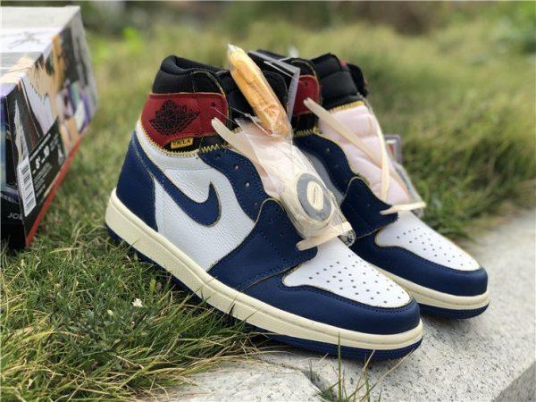 Storm Blue Union x Air Jordan 1 Retro High OG NRG shoes