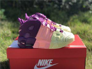 GS Nike Air More Uptempo Vibrant Tri-Color
