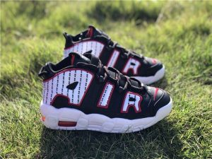 Nike Air More Uptempo Pinstripe Chicago Color