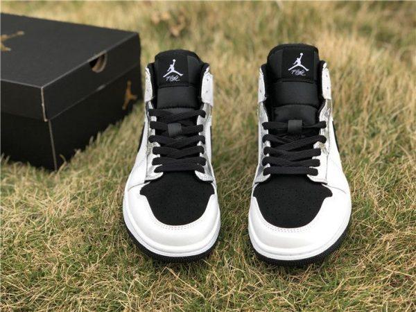 Alternate Think 16 Air Jordan 1 Mid 554724-121 tongue