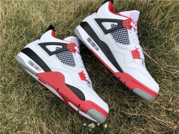Jordan 4 OG Fire Red shoes