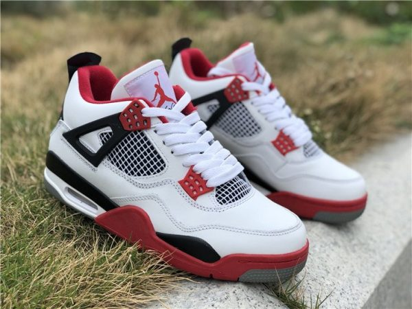 Nike Air Jordan 4 Retro IV Fire Red for sale
