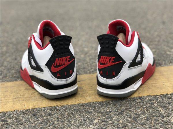 Nike Air Jordan 4 Retro IV Fire Red heel