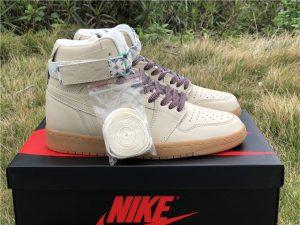 Mens Jordan 1 Hi Strap N7 Light Cream