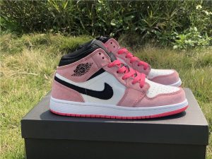 New Air Jordan 1 Mid Crimson Tint