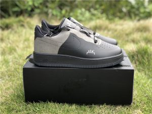 Nike Air Force 1 Low X A Cold Wall Black Grey