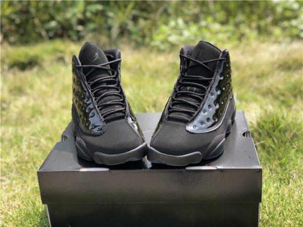 buy 2019 Air Jordan 13 Cap and Gown all Black