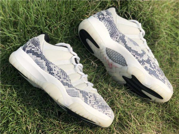 2019 Jordan 11 Low SE Snakeskin Light Bone